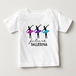 FUTURE BALLERINA Neon Tutu Ballet Dance Dancer Baby T-Shirt