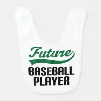 Future Baseball Player Baby Bib