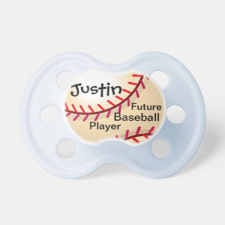 Future Baseball Player Pacifier