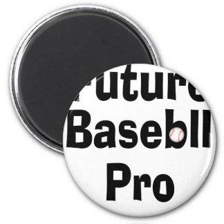 Future Baseball Pro 2 Inch Round Magnet
