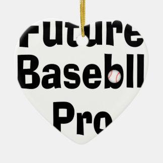 Future Baseball Pro Ceramic Ornament