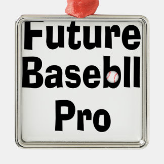 Future Baseball Pro Metal Ornament