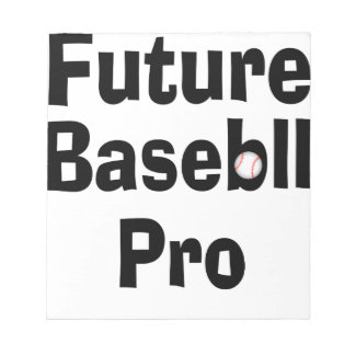 Future Baseball Pro Notepad