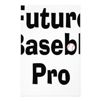 Future Baseball Pro Stationery