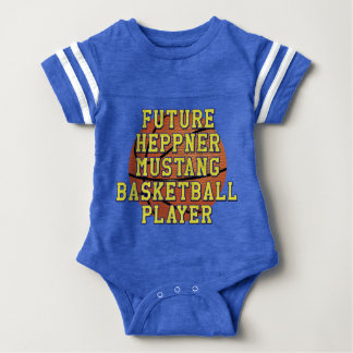 Future Basketball Player Baby Bodysuit