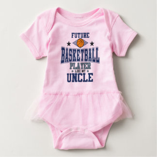 Future Basketball Player Like My Uncle Baby Bodysuit