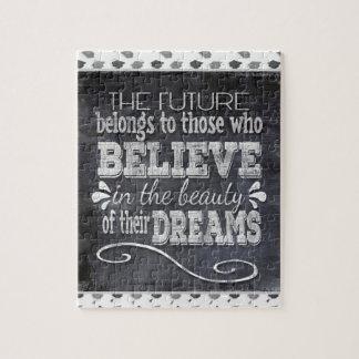 Future Belong, Believe in the Beauty Dreams, Black Puzzles
