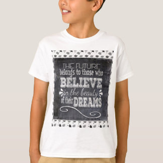 Future Belong, Believe in the Beauty Dreams, Black T-Shirt