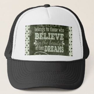 Future Belong, Believe in the Beauty Dreams, Green Trucker Hat