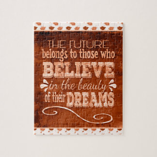 Future Belong, Believe in the Beauty Dreams, Orang Jigsaw Puzzle