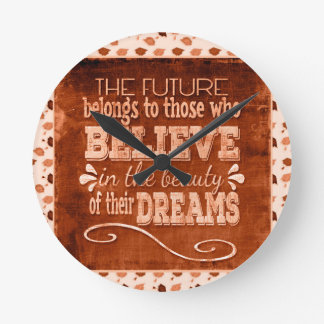 Future Belong, Believe in the Beauty Dreams, Orang Round Clock