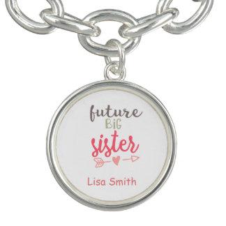 Future Big Sister Charm Bracelet