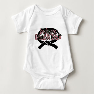 Future Black Belt  (red) Baby Bodysuit