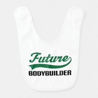 Future Bodybuilder Baby Bib