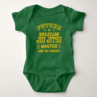 Future Brazilian Jiu Jitsu Master Like My Daddy Baby Bodysuit