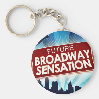 Future Broadway Sensation Basic Round Button Keychain