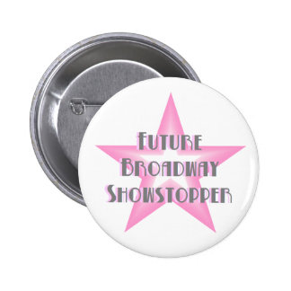 Future Broadway Showstopper (Pink) Button