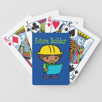 Future Builder Bicycle Playing Cards