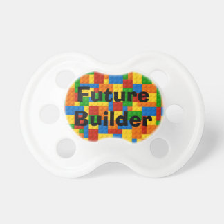 Future Builder Colorful Blocks - Pacifier