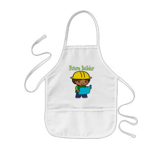 Future Builder Kids Apron