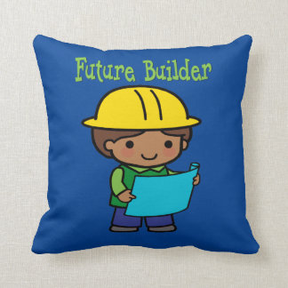 Future Builder Throw Pillow