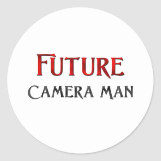 Future Camera Man Stickers