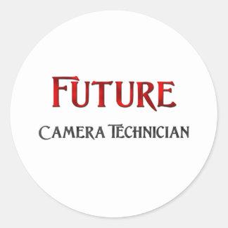 Future Camera Technician Sticker