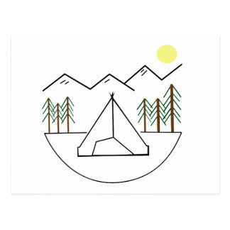 Future Camper Kid Collection Postcard