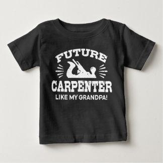 Future Carpenter Like My Grandpa Baby T-Shirt
