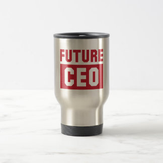 Future CEO Chief Executive Officer Businessman Travel Mug