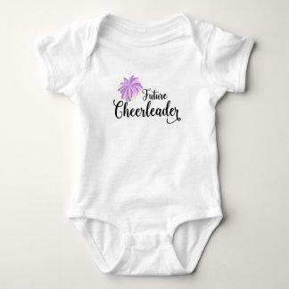 Future Cheerleader baby bodysuit