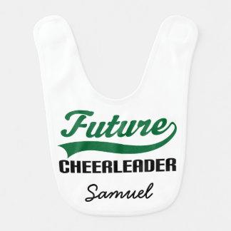 Future Cheerleader Personalized Baby Bib