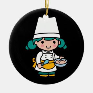 Future Chef / Baker / Pâtissier Ceramic Ornament