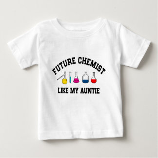 Future Chemist Like My Auntie Baby T-Shirt