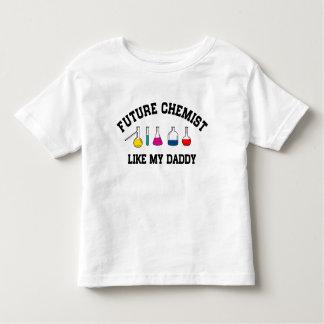 Future Chemist Like My Daddy Toddler T-shirt