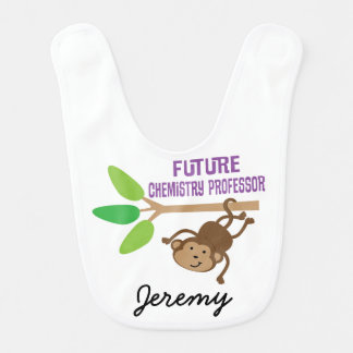 Future Chemistry Professor Personalized Baby Bib