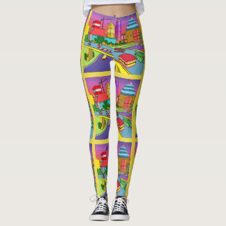 future city by DAL Leggings