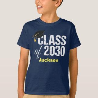 Future Class of 2030 Kindergarten Graduate 2018 T-Shirt