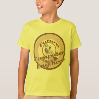 Future Computer Engineer Kids Occupation T-shirt