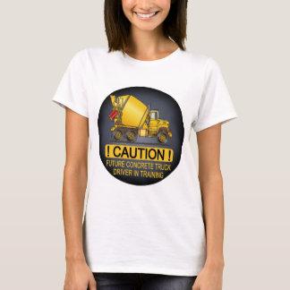 Future Concrete Truck Driver Womens T-Shirt