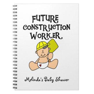 Future Construction Worker Custom Notebook