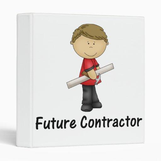 future contractor vinyl binder