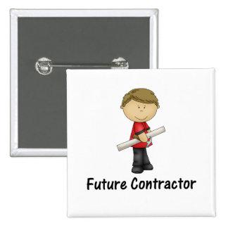 future contractor pinback button