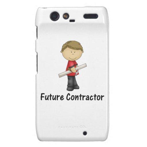 future contractor motorola droid RAZR case
