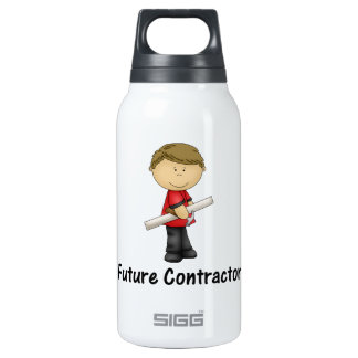 future contractor insulated water bottle