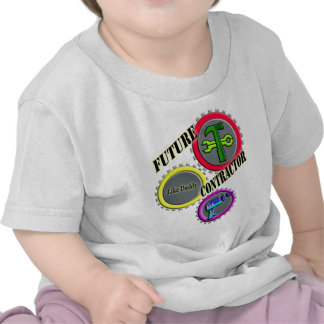 Future Contractor Kids T-shirt