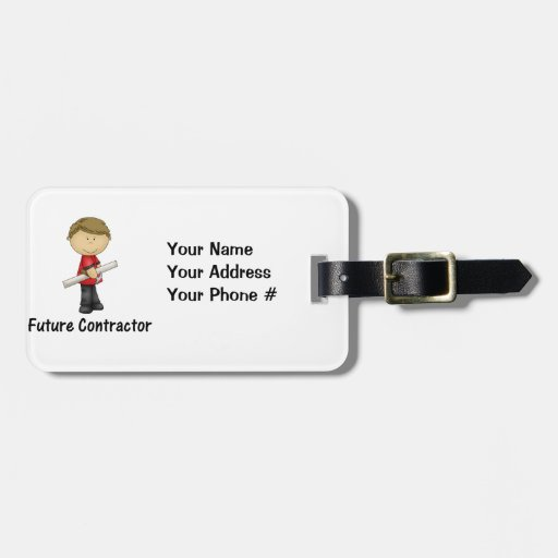future contractor tag for luggage