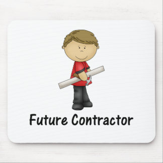 future contractor mouse pad