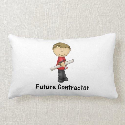future contractor pillow