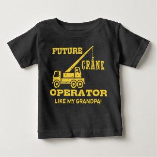 Future Crane Operator Like My Grandpa Baby T-Shirt